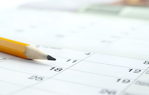 IR Event Calendar